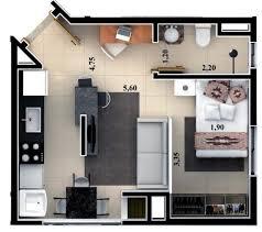 Small Casita Floor Plans Plano Depto 2 Ambientes Casita Rural Pinterest Tiny Houses
