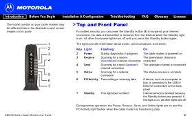 motorola surfboard cable modem lights panduan pelanggan fast net cable modem motorola sb5101