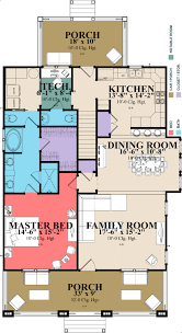 craftsman style house plan 3 beds 3 00 baths 2296 sq ft plan 63 380
