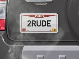 Vanity Plate 2 Rude Why Some Ohio Vanity Plates Fail To Make The Cut Wkyc Com