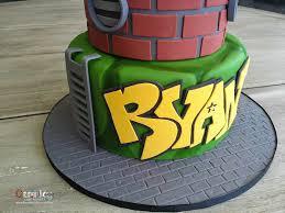 tmnt cake tmnt cake 2 tier cake the cake society
