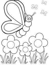 mariposas flores colorear buscar google ideas