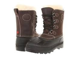 womens leather winter boots canada womens kamik pearson brown waterproof leather shearling