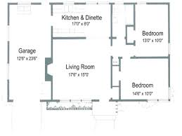 Simple Single Floor House Plans Attractive 2 Bedroom Open Floor House Plans Also More Bedroomfloor