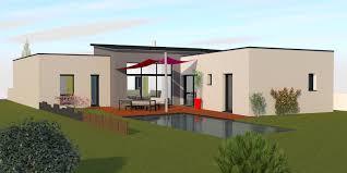 plan maison contemporaine plain pied 4 chambres plan maison de plain pied 4 chambres 15 maison contemporaine avec