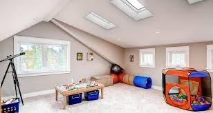 special attic playroom furniture design combine tantalizing white