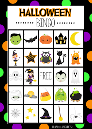 halloween bingo no5 coloring page dresslikeaboss co