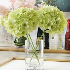 fake flowers for home decor new fake flower home desktop decor pompom silk flowers bouquet