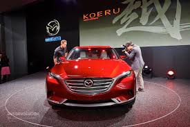 mazda suv names mazda koeru concept is a stunning preview for the next japanese