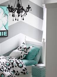 exciting attic pink wall decor teenage girls bedroom with car