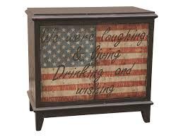 pulaski furniture accents american flag accent wine cabinet