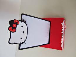 Hello Kitty Invitation Cards Jingvitations Hello Kitty Foldable Pop Up Card Invitations