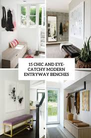 White Entryway Bench by 15 Chic And Eye Catchy Modern Entryway Benches Shelterness