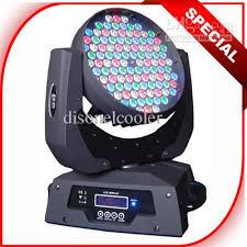 2018 programmable dmx led moving wash lights 3w 108 rgbw leds