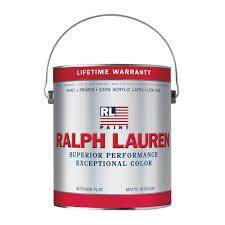 ralph lauren brilliant white interior base 1 flat paint 1 gallon