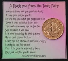 tooth fairy gift the tooth fairy www doors4fairies