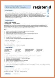 Nurse Resume Format Sample by Nurse Resume Template Letter Format Example
