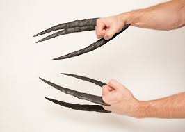 wolverine s claws daken wolverine claws sculpted and distressed
