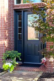 Paint Front Door Sherwin Williams Iron Ore Paint This Color For Front Door And
