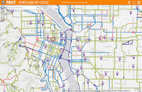 Ne Portland Bike Map by Ite Step Stepatpsu Twitter