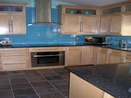Glass Tile Canopy  Kitchen Backsplash Blue Subway Glass Tile - Blue glass tile backsplash