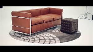 le corbusier sofa youtube