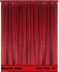 Burgundy Velvet Curtains Panelburgundy Velvet Panel Jpg