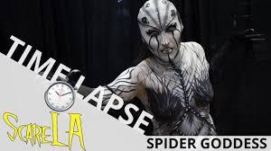 makeup school la spider goddess makeup time lapse scare la 2017 ei makeup