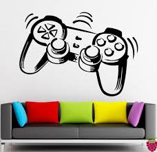 wall stickers vinyl decal joystick game gamer cool decor for