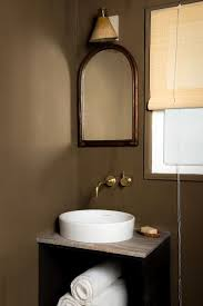 what color goes with brown bathroom cabinets 22 best bathroom colors top paint colors for bathroom walls