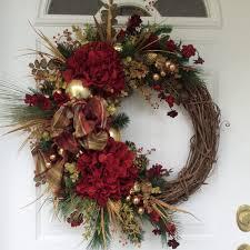 christmas wreath winter wreath holiday by reginasgarden on etsy