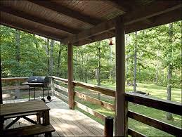 cabin porch porch creekside cabin porch photos