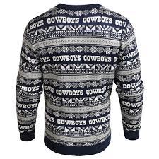 dallas cowboys ugly christmas sweater