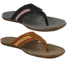 hush puppies frame mens toe post leather slip on mule sandals