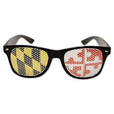 Flag Sunglasses Black Maryland Flag Sunglasses U2013 Route One Apparel