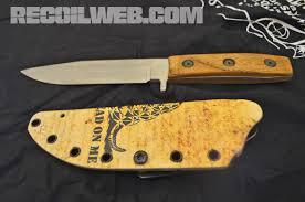 aftershot dwyer custom bowie built like a battleship recoil