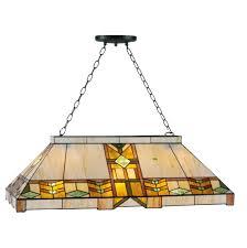 charleston tiffany pool table light by tiffany lighting direct