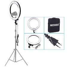 camera and lighting for youtube videos neewer 18 600w 5500k flash ring flash fluorescent video light