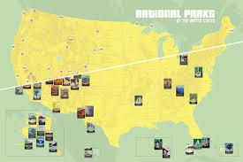 map us parks us parks map closeup zoom map usa national parks major
