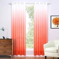 Orange And White Curtains Cheap Orange Curtains Large Size Of Orange Check Curtains Kitchen