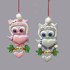 baby s 1st owl ornament for