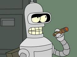 Bender Futurama Meme - bender futurama cigar meme generator imgflip