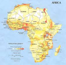 mapa de africa africa maps perry castañeda map collection ut library