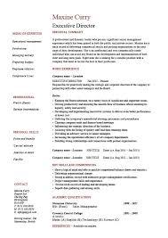 Executive Director Resume Template Fancy Ideas Director Resume 13 Management Cv Template Managers