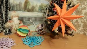 origami star diy holiday room decor diy tutorial handmade ways to