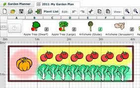 Veg Garden Layout Garden Plan App Free Paso Evolist Co