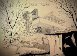 falling water by alhdesign on deviantart