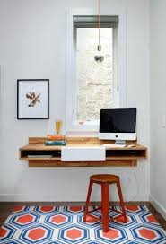 Floating Desks Floating Desk Ideas This Industrial Floating Desk Is Wall Mounted