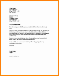 reference letters examples friend professional resumes sample online