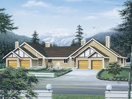 multifamily house plans bradenton multi family duplex plan 008d 0100 house plans and more